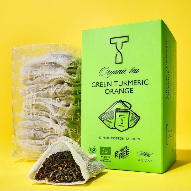 ORGANIC GREEN TURMERIC ORANGE